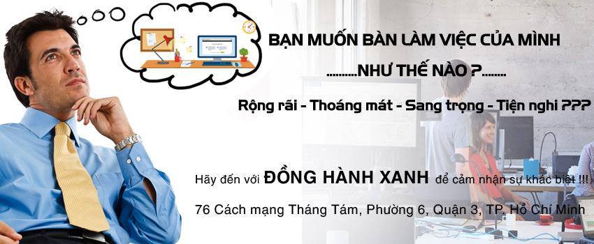 văn phòng ảo tphcm, Đồng Hành Xanh