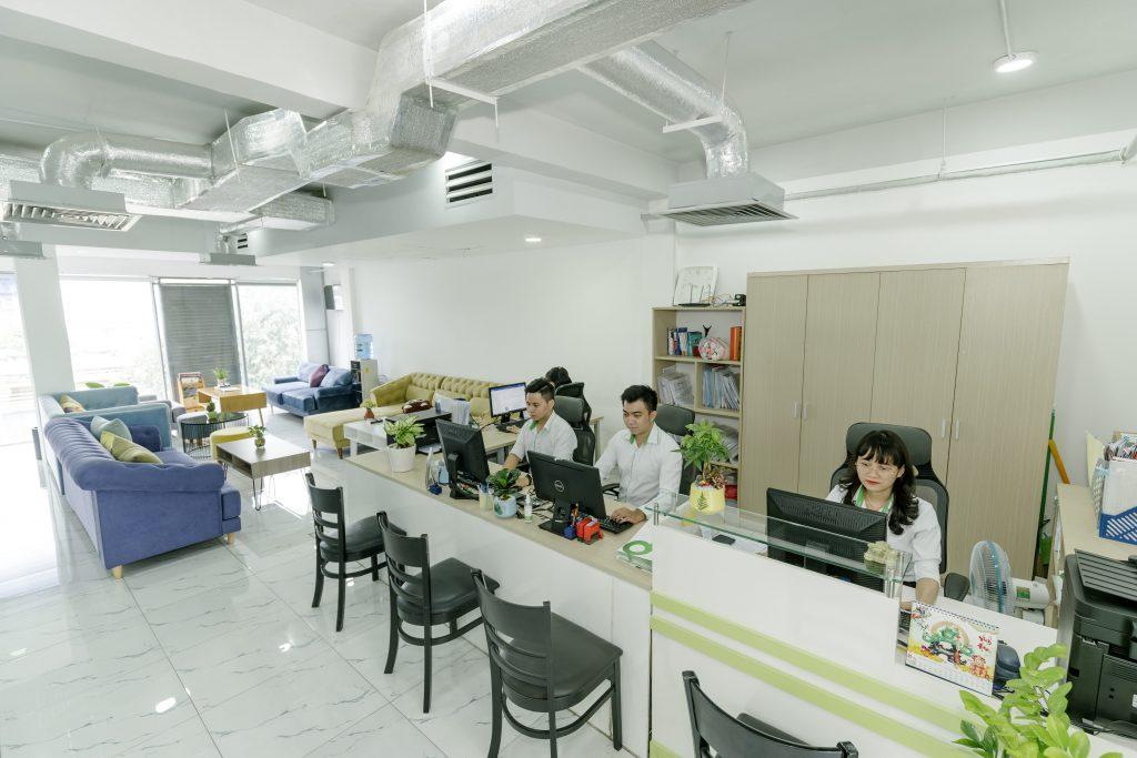 Văn phòng chia sẻ, Đồng Hành Xanh